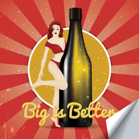 better: big is better sticker
