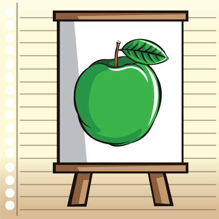 ruled paper: chart board