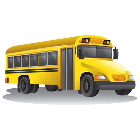 headlights: school bus