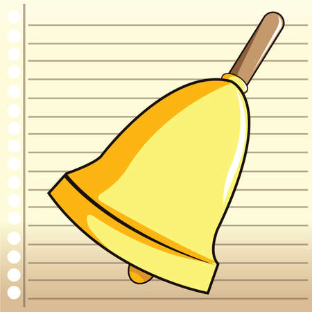 ruled paper: bell