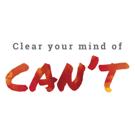 cant: clear your mind of cant Illustration
