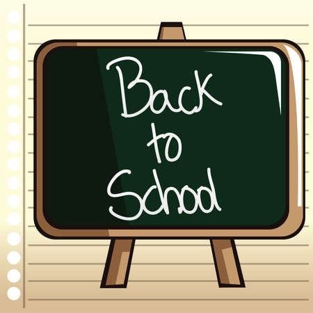 ruled paper: back to school