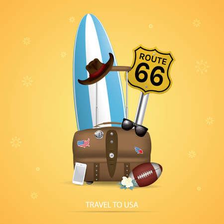 sixty six: travel to usa