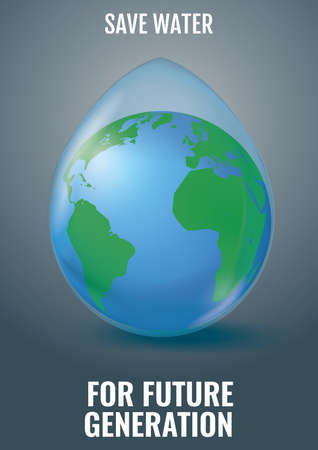 generation: save water for future generation