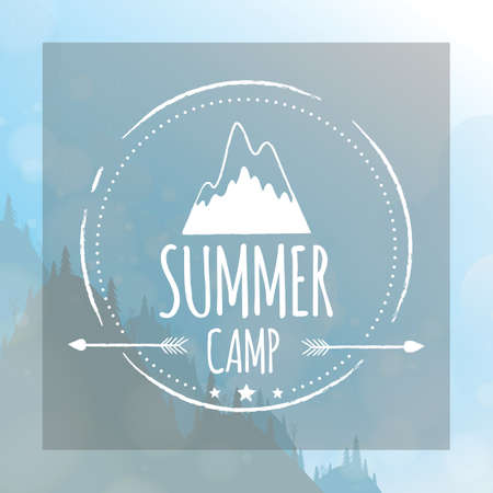 getaways: summer camp label