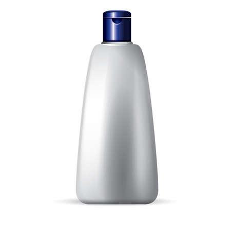 unlabeled: bottle of body cream