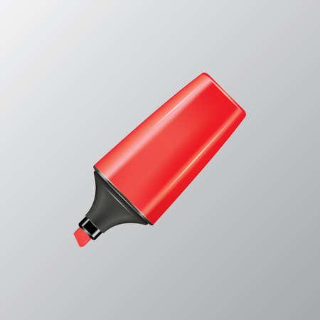 pen and marker: marker pen Illustration
