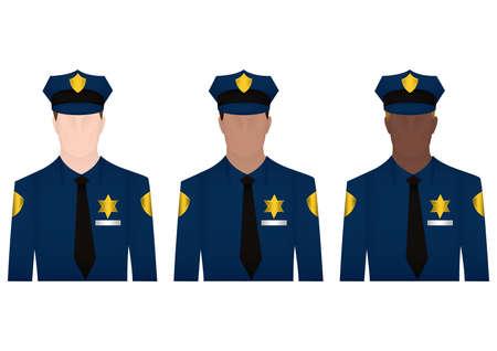 policemen: policemen Illustration