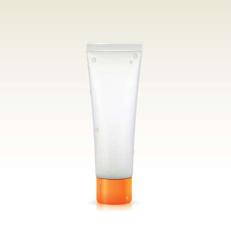 face wash: cosmetic tube