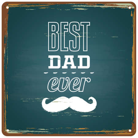 papa: happy fathers day greeting card