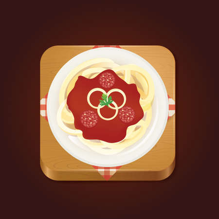 bolognese: spaghetti