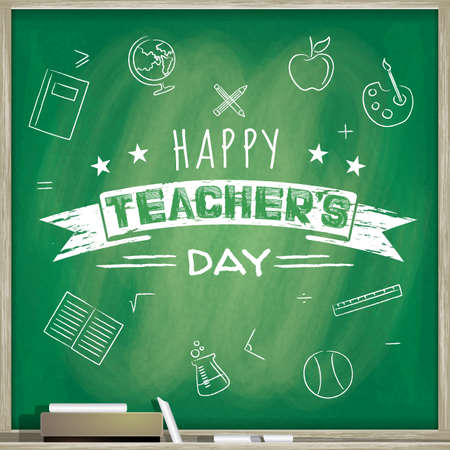 happy teacher's day Stok Fotoğraf - 51374654