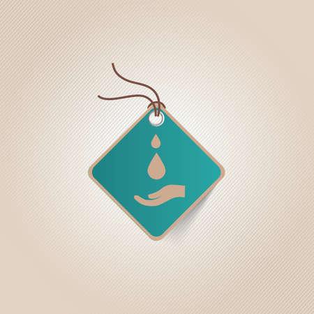 tag: save water tag