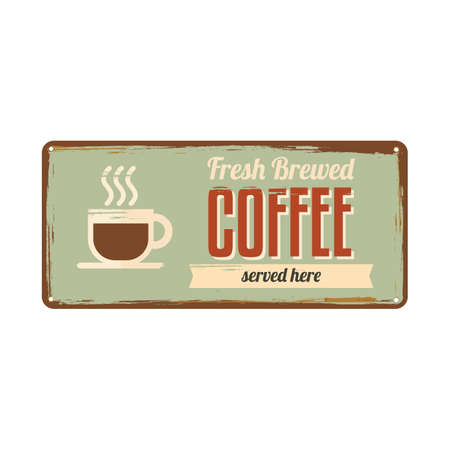 fresh brewed: coffee signboard