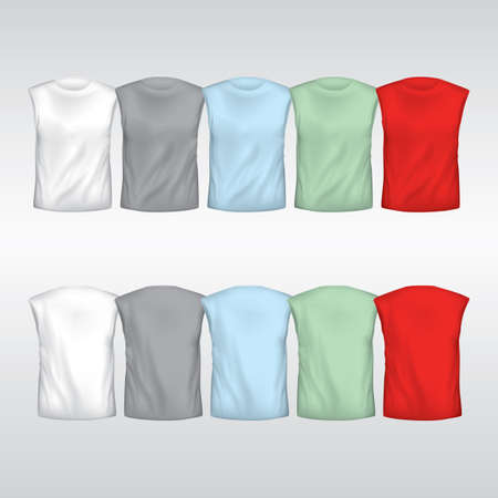 sleeveless: collection of sleeveless t-shirt