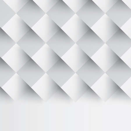 three dimensional shape: seamless square background