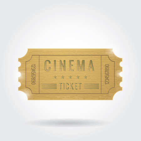 cinema ticket: cinema ticket