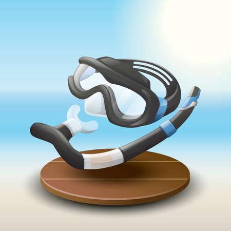 equipment: snorkeling equipment