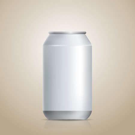 unlabeled: blank soda can