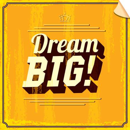 motivate: dream big quote