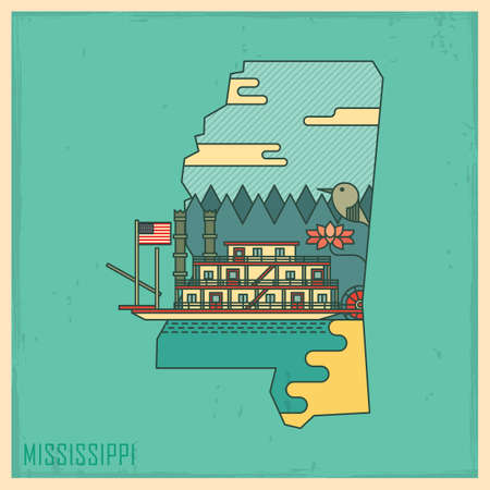 unites: mississippi state map