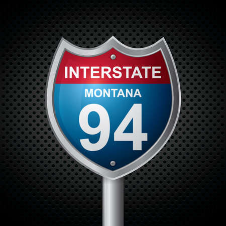 roadsigns: montana 94 route sign