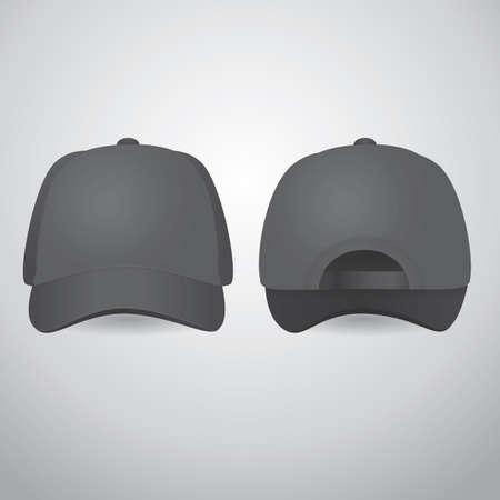 hat with visor: cap Illustration