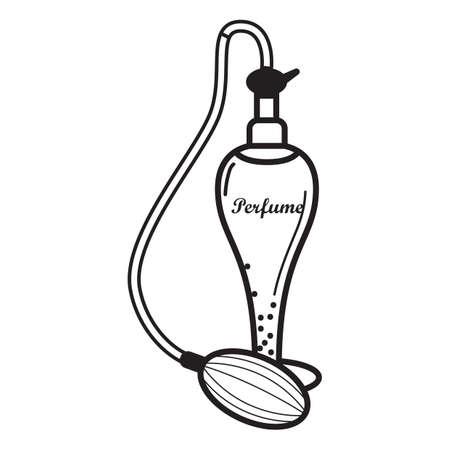 perfume bottle: perfume bottle Illustration