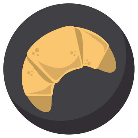 buttery: croissant