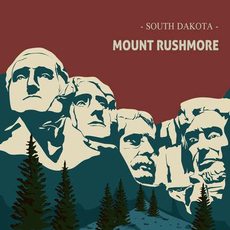 Mount Rushmore  Standard-Bild - 51402267