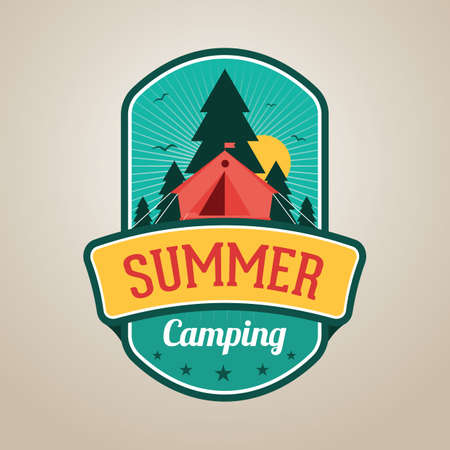 outing: summer camping