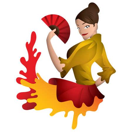 danseuse flamenco: Flamenco