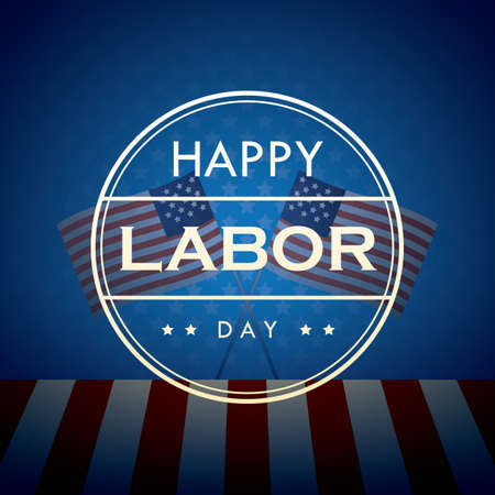 happy labor day wallpaper Illustration