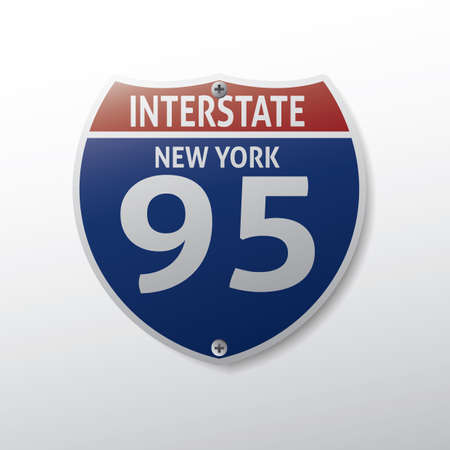 95: new york 95 route sign