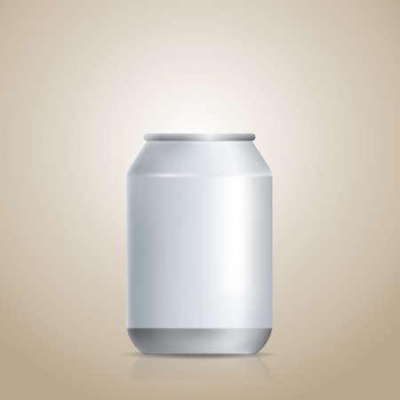soda can: blank soda can
