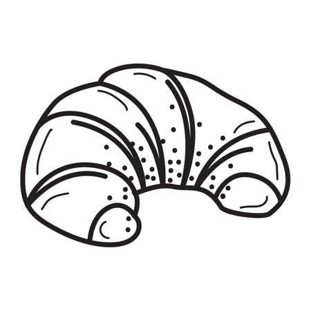 basic food: croissant