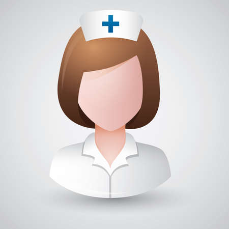 nursing clothes: nurse