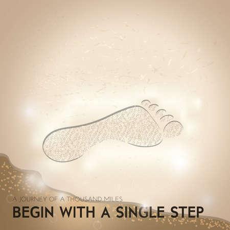 motivational quote Ilustração