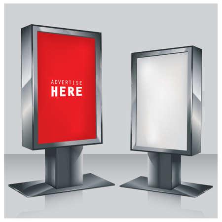 outdoor lights: advertising billboards