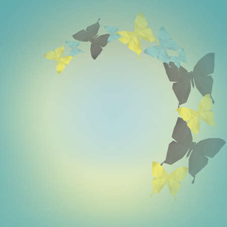 faceted: faceted butterflies