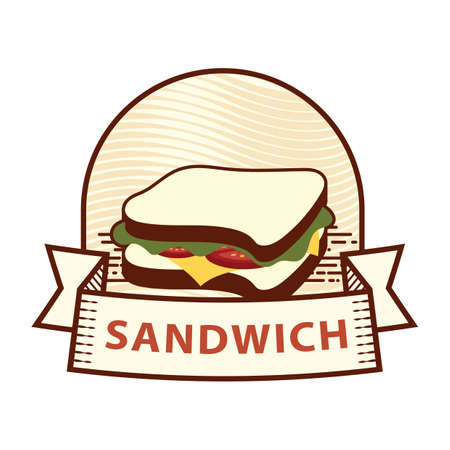 sandwich label