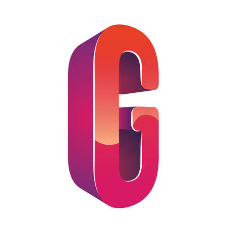 g: letter g Illustration