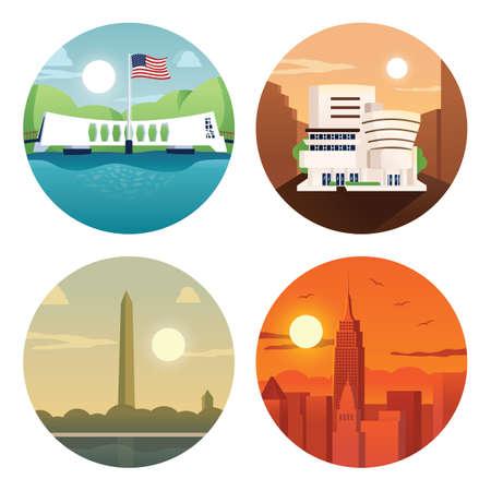 collection usa landmarks