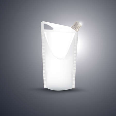 pouch: blank spout pouch Illustration