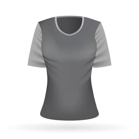 womans clothing: t-shirt Illustration