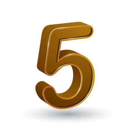 integer: number 5