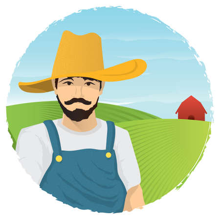 farmer Illustration
