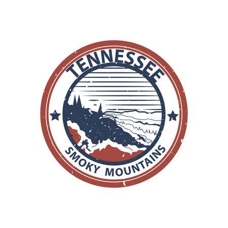 tennessee: montañas del smokey tennessee