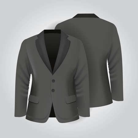 back pocket: suits Illustration