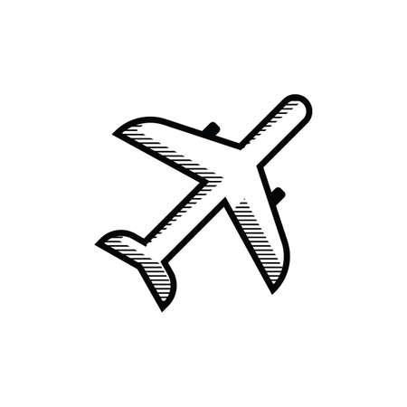 airways: aeroplane Illustration